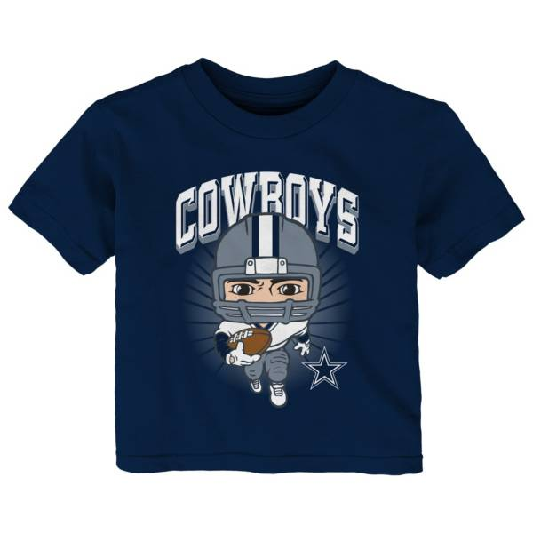 NFL Team Apparel Toddler Dallas Cowboys Player Navy T-Shirt product image