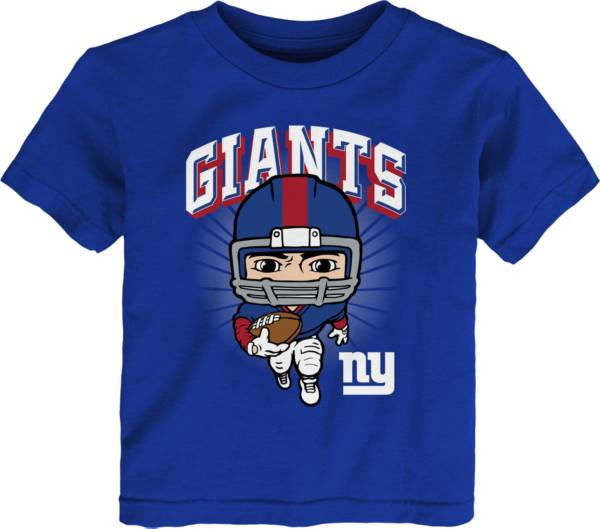 NFL Team Apparel Toddler New York Giants Royal Player T-Shirt product image