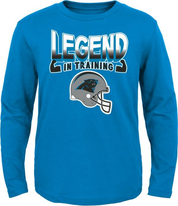 NFL Team Apparel Toddler's Carolina Panthers Legend In Training Blue T-Shirt product image