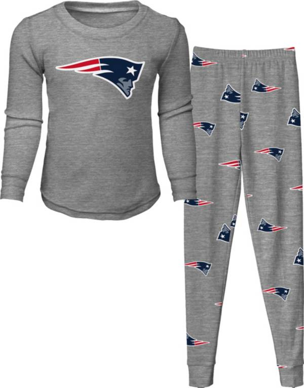 NFL Team Apparel Toddler's New England Patriots Long Sleeve Sleep Set product image