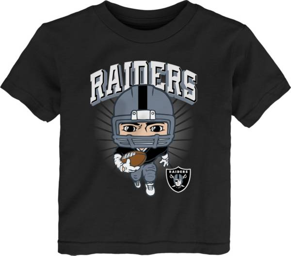 NFL Team Apparel Toddler Las Vegas Raiders Black Player T-Shirt product image