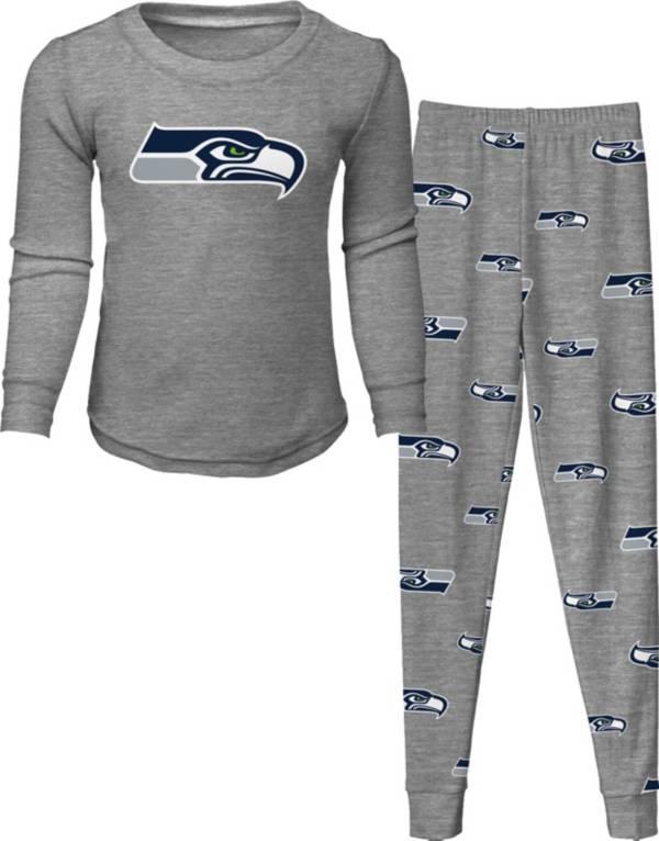 NFL Team Apparel Toddler's Seattle Seahawks Long Sleeve Sleep Set product image