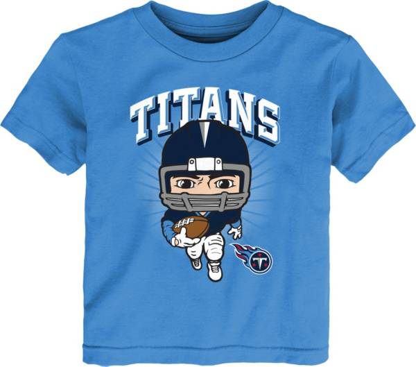 NFL Team Apparel Toddler Tennessee Titans Blue Player T-Shirt product image