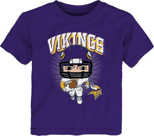 NFL Team Apparel Toddler Minnesota Vikings Purple Player T-Shirt product image