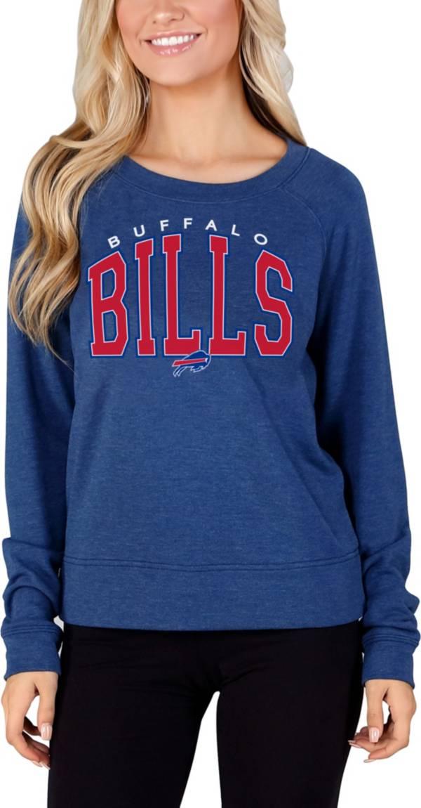 Concepts Sport Women's Buffalo Bills Mainstream Arch Royal Crew Sweatshirt product image