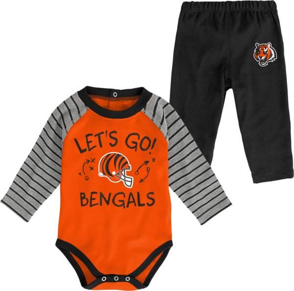 NFL Team Apparel Youth Cincinnati Bengals Long Sleeve Set product image