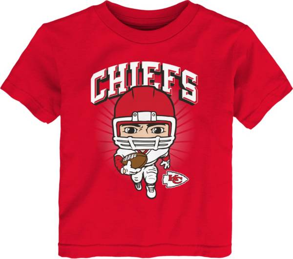 NFL Team Apparel Toddler Kansas City Chiefs Red Player T-Shirt product image
