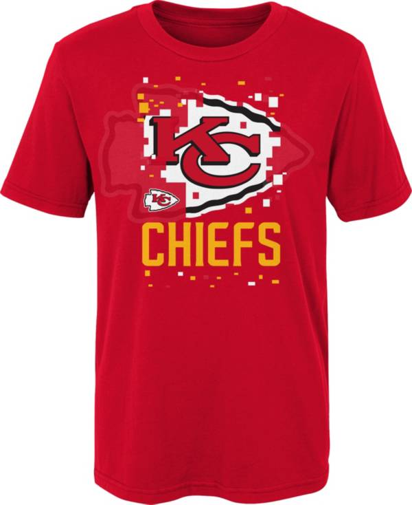 Gen2 Youth 4-7 Kansas City Chiefs Red Zoom T-Shirt product image