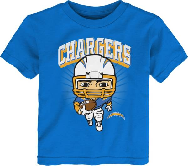 NFL Team Apparel Toddler Los Angeles Chargers Blue Player T-Shirt product image