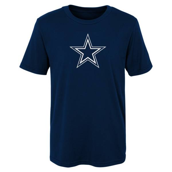 NFL Team Apparel Youth Dallas Cowboys Team Logo Navy T-Shirt product image