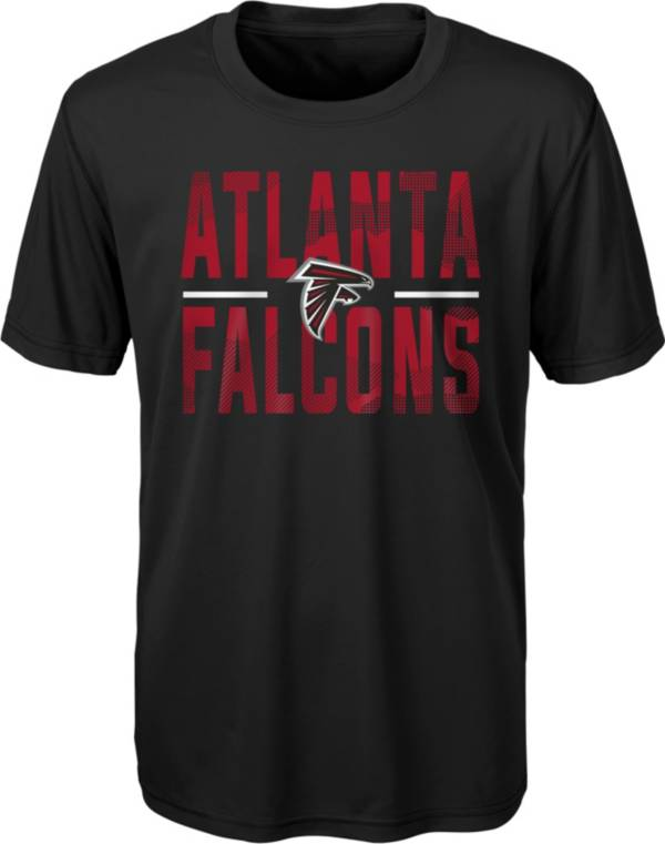 NFL Team Apparel Youth Atlanta Falcons Grand Central Black T-Shirt product image