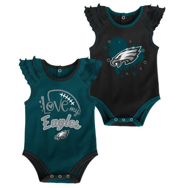 Gen2 Infant Girl Philadelphia Eagles 2-Piece Onesie Set product image