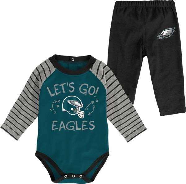 NFL Team Apparel Youth Philadelphia Eagles Long Sleeve Set product image