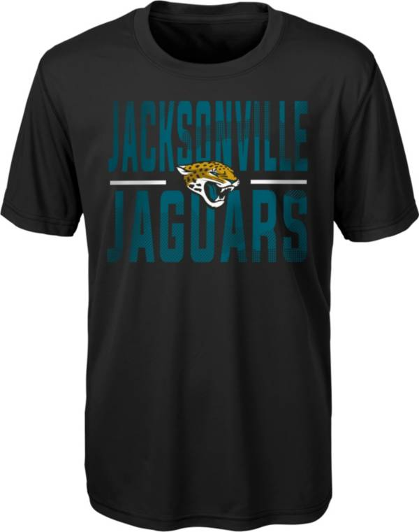 NFL Team Apparel Youth Jacksonville Jaguars Grand Central Black T-Shirt product image