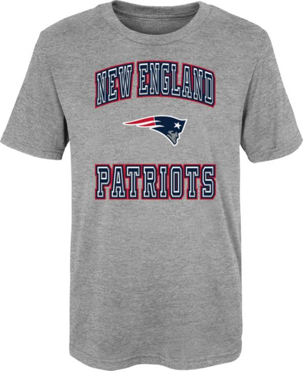 NFL Team Apparel Youth 4-7 New England Patriots Chiseled T-Shirt product image
