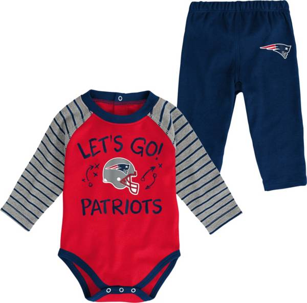 NFL Team Apparel Youth New England Patriots Long Sleeve Set product image