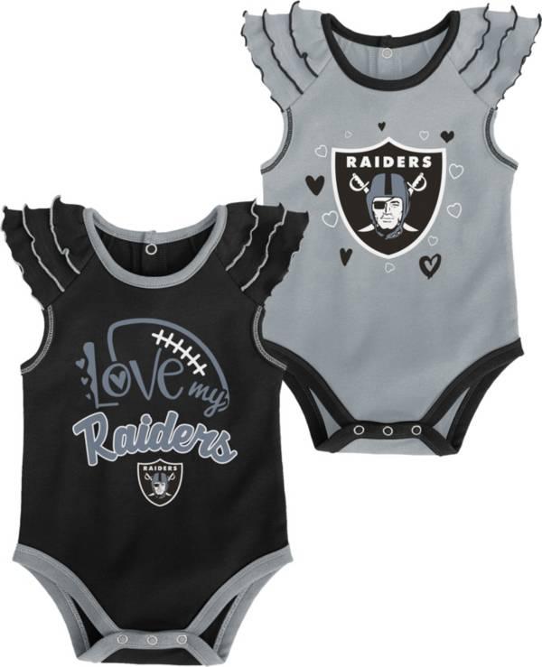 Gen2 Infant Girl Las Vegas Raiders 2-Piece Onesie Set product image