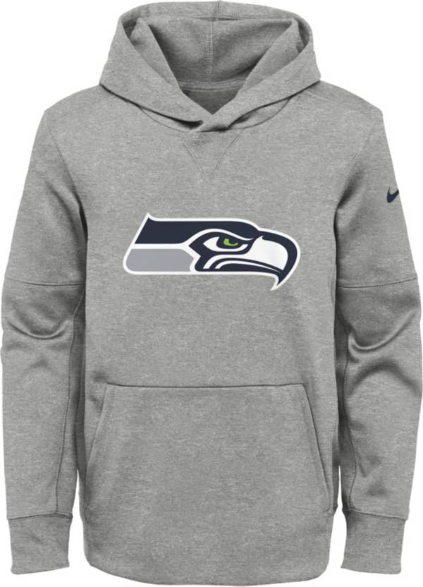 Nike Youth Seattle Seahawks Logo Essential Grey Hoodie product image