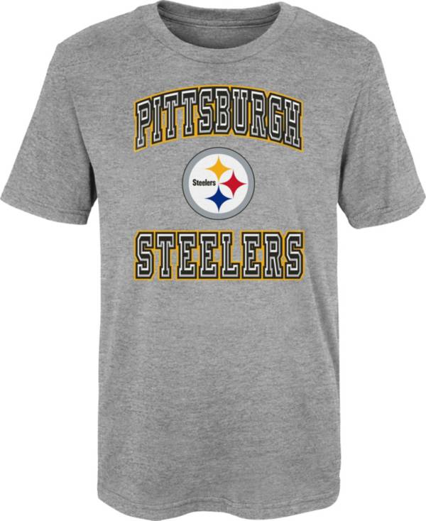 NFL Team Apparel Youth 4-7 Pittsburgh Steelers Chiseled T-Shirt product image