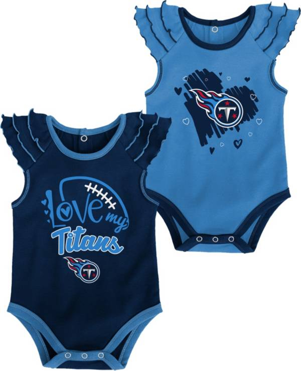 Gen2 Infant Girl Tennessee Titans 2-Piece Onesie Set product image