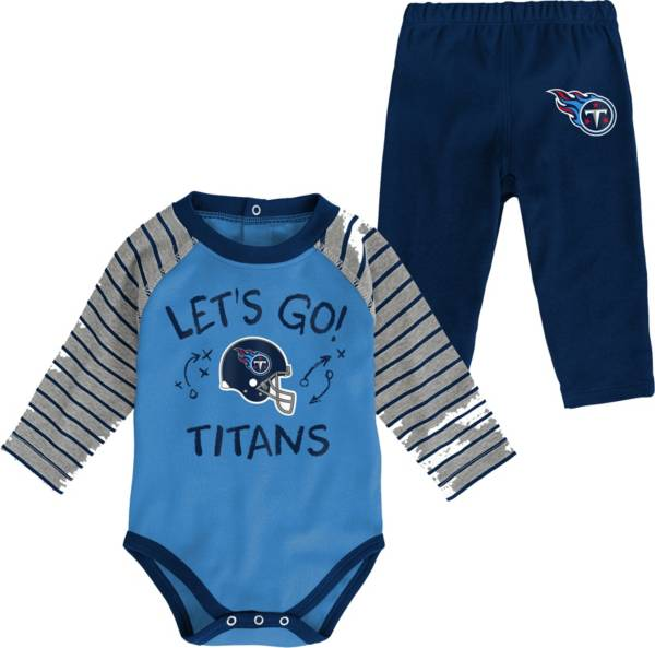 NFL Team Apparel Infant Tennessee Titans Long Sleeve Set product image
