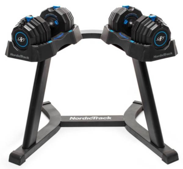 NordicTrack Adjustable Select-A-Weight Dumbbell Stand product image