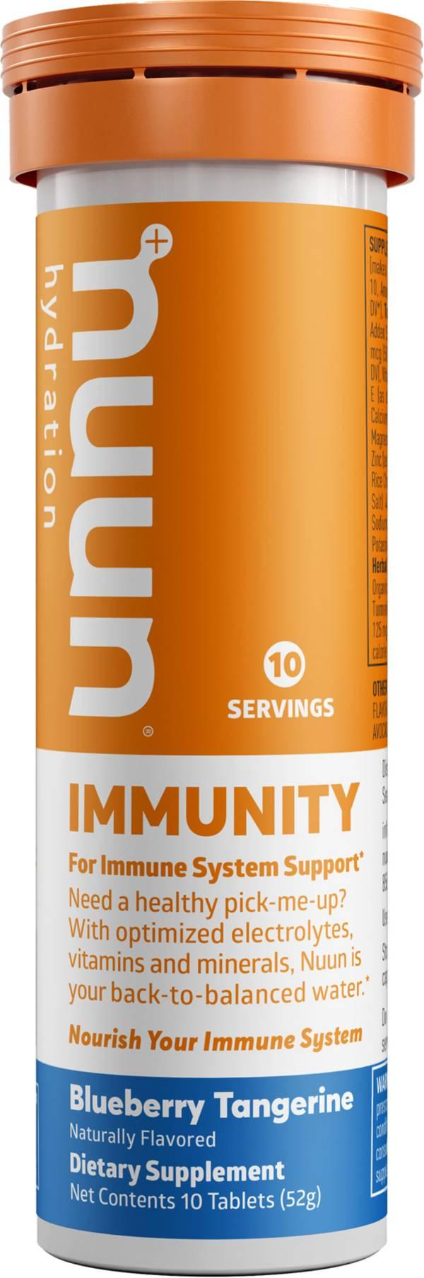 Nuun Immunity Blueberry Tangerine 10 Tablets product image