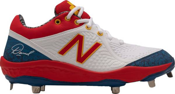 New Balance Men's 3000 V5 David Sunflower Seeds Metal Baseball Cleats product image