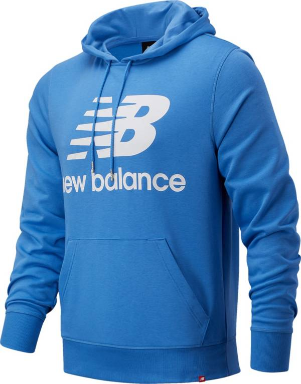 New Balance Men's Essentials Stacked Logo Pullover Hoodie product image