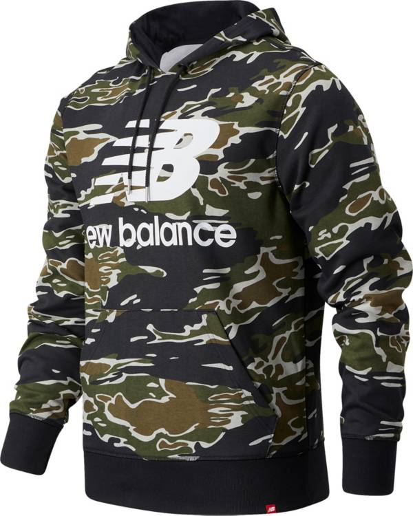 New Balance Men's Essentials Stacked AOP Pullover Hoodie product image