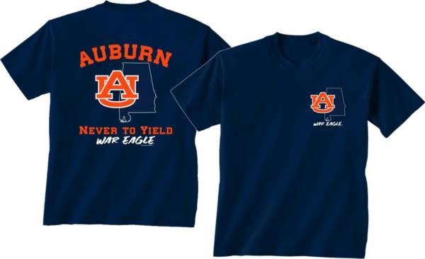 New World Graphics Men's Auburn Tigers Blue 'Strong' T-Shirt product image