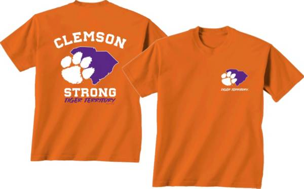 New World Graphics Men's Clemson Tigers Orange 'Strong' T-Shirt product image