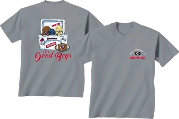 New World Graphics Men's Georgia Bulldogs Grey Cool Pups T-Shirt product image