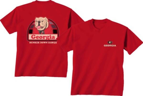 New World Graphics Men's Georgia Bulldogs Red Portrait T-Shirt product image