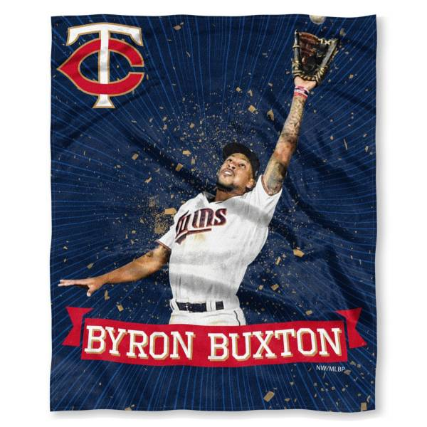 TheNorthwest Minnesota Twins 50'' x 60'' Bryon Buxton Throw product image