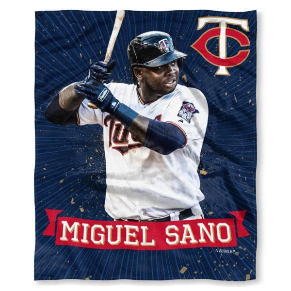 TheNorthwest Minnesota Twins 50'' x 60'' Miguel Sano Throw product image