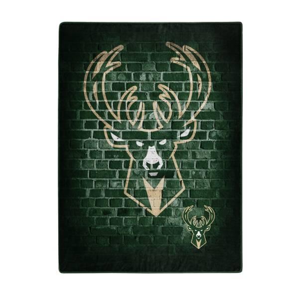 Milwaukee Bucks 50'' x 60'' Street Play Raschel Blanket product image
