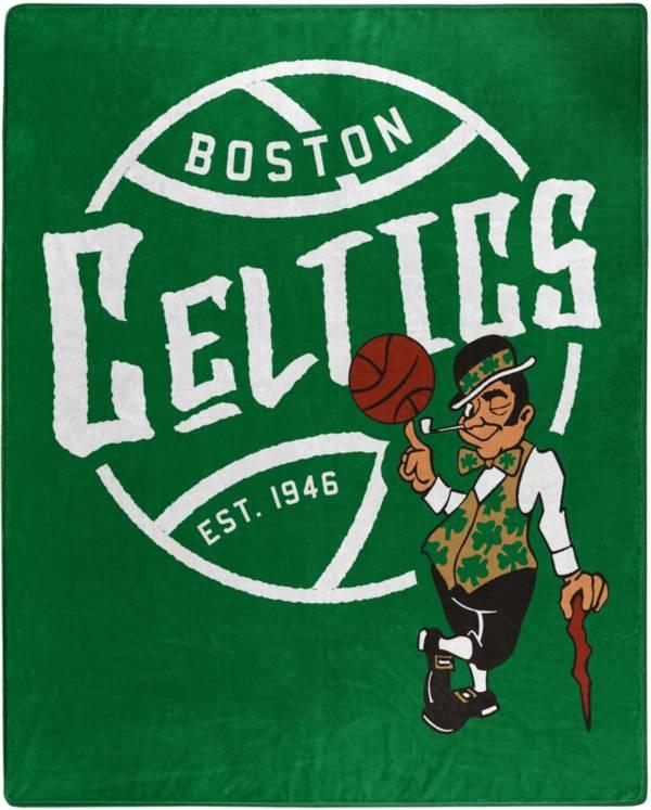 Boston Celtics 50'' x 60'' Blacktop Raschel Blanket product image