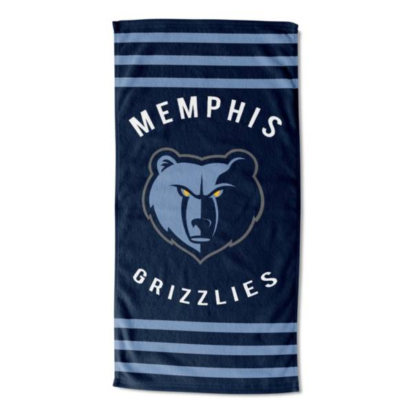 Northwest Memphis Grizzlies Stripes Beach Towel product image