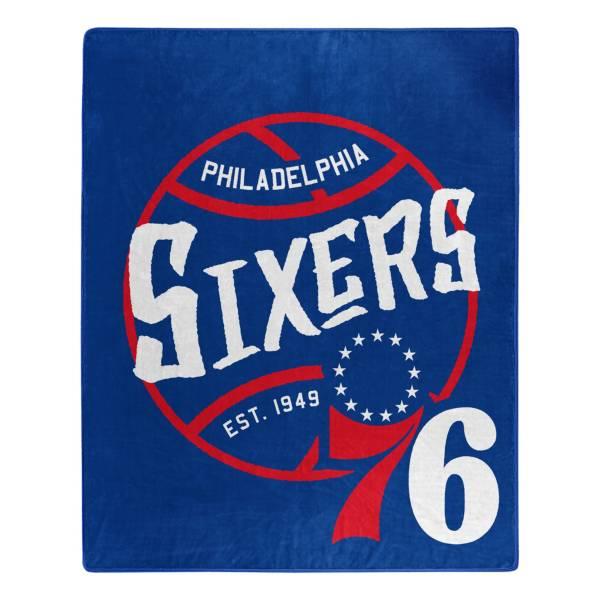 Philadelphia 76ers 50'' x 60'' Blacktop Raschel product image
