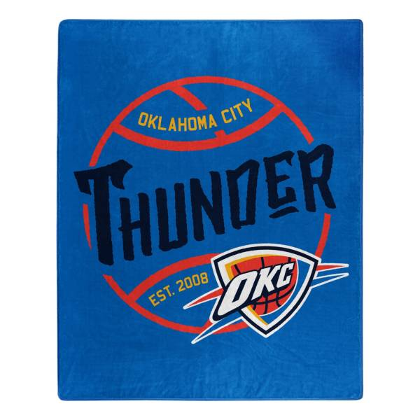 Northwest Oklahoma City Thunder Blacktop Raschel product image
