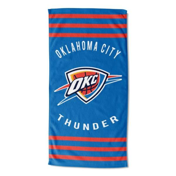 TheNorthwest Oklahoma City Thunder Stripes Beach Towel product image