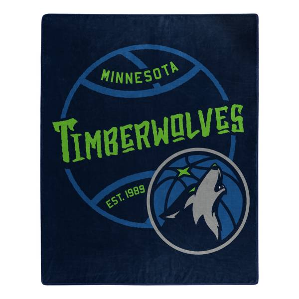 Minnesota Timberwolves 50'' x 60'' Blacktop Raschel product image