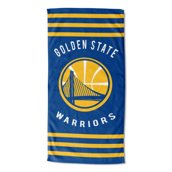 Northwest Golden State Warriors Stripes Beach Towel product image