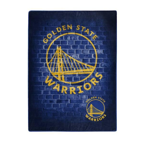 Golden State Warriors 50'' x 60'' Street Play Raschel product image
