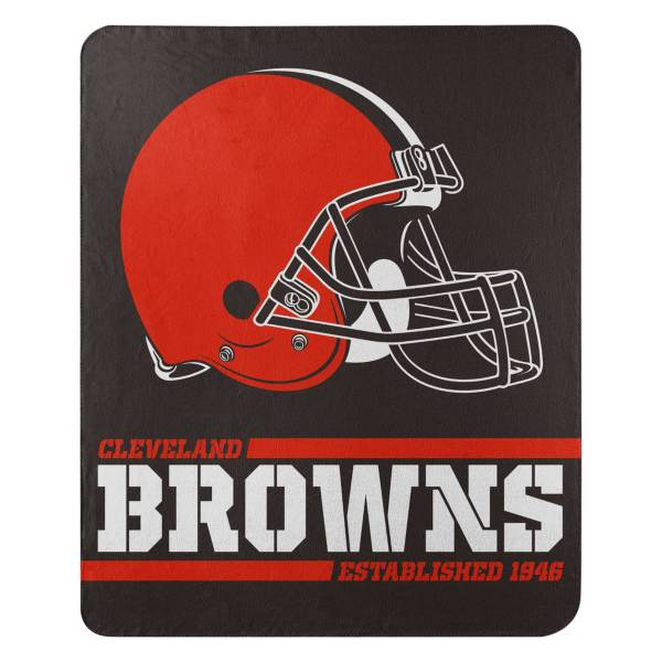 TheNorthwest Cleveland Browns 50'' x 60'' Split Wide Fleece Blanket product image