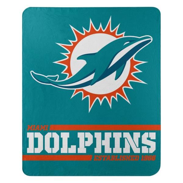 TheNorthwest Miami Dolphins 50'' x 60'' Split Wide Fleece Blanket product image