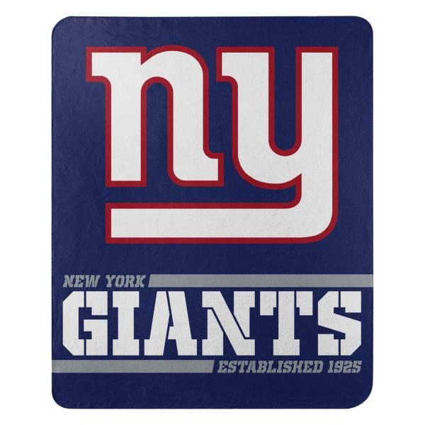 TheNorthwest New York Giants 50'' x 60'' Split Wide Fleece Blanket product image