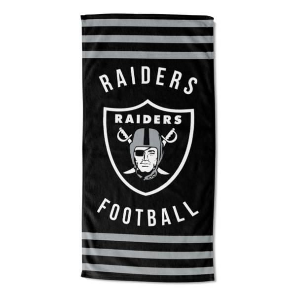 TheNorthwest Las Vegas Raiders Stripes Beach Towel product image