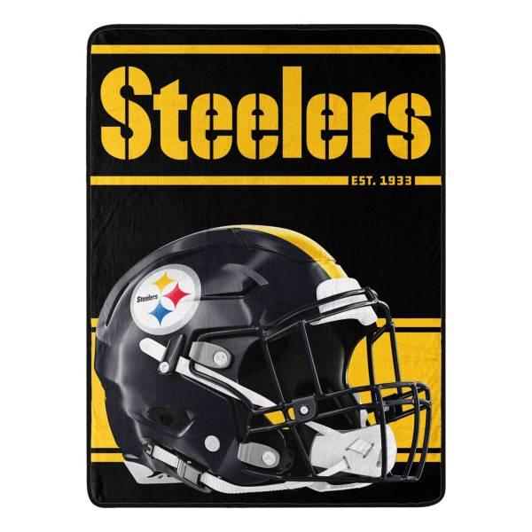 Pittsburgh Steelers 46'' x 30'' Run Micro Raschel product image